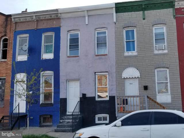 431 S Pulaski Street, BALTIMORE, MD 21223 (#MDBA549812) :: Bruce & Tanya and Associates
