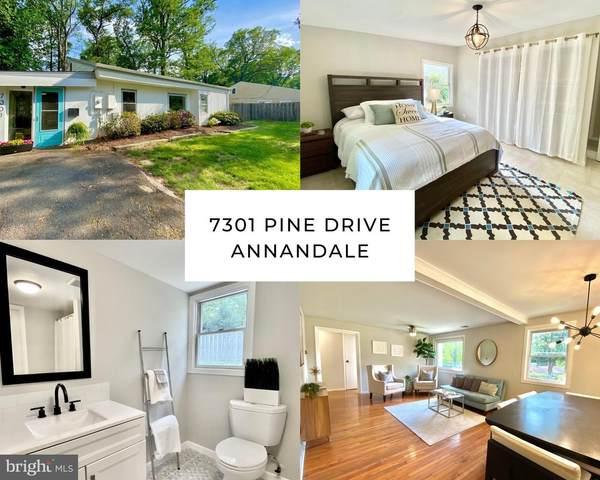 7301 Pine Drive, ANNANDALE, VA 22003 (#VAFX1199046) :: RE/MAX Cornerstone Realty