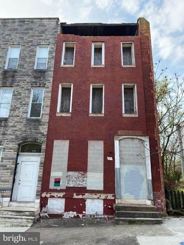 1517 Edmondson Avenue, BALTIMORE, MD 21223 (#MDBA549898) :: Bruce & Tanya and Associates