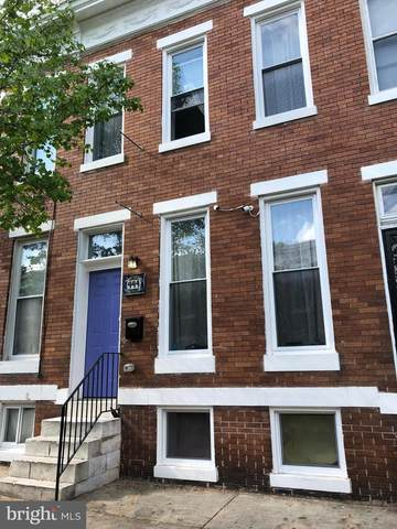 444 Whitridge Avenue, BALTIMORE, MD 21218 (#MDBA550048) :: ExecuHome Realty