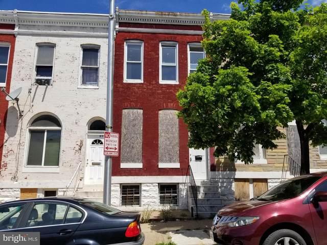 2134 Hollins Street, BALTIMORE, MD 21223 (#MDBA550052) :: Corner House Realty
