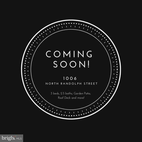 1006 N Randolph Street, PHILADELPHIA, PA 19123 (#PAPH1015042) :: Bowers Realty Group
