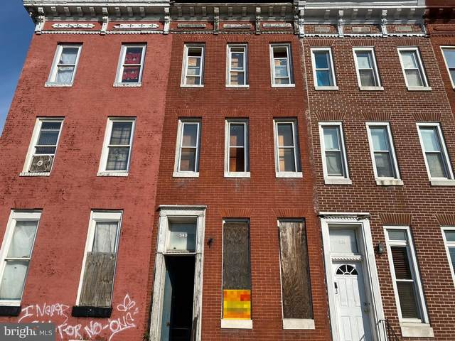 540 Laurens Street, BALTIMORE, MD 21217 (#MDBA550122) :: Murray & Co. Real Estate