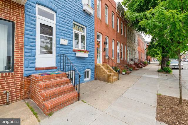 1402 E Fort Avenue, BALTIMORE, MD 21230 (#MDBA550128) :: Advon Group
