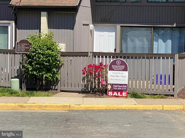 3865 El Camino Place #5, ALEXANDRIA, VA 22309 (#VAFX1199524) :: Ram Bala Associates | Keller Williams Realty