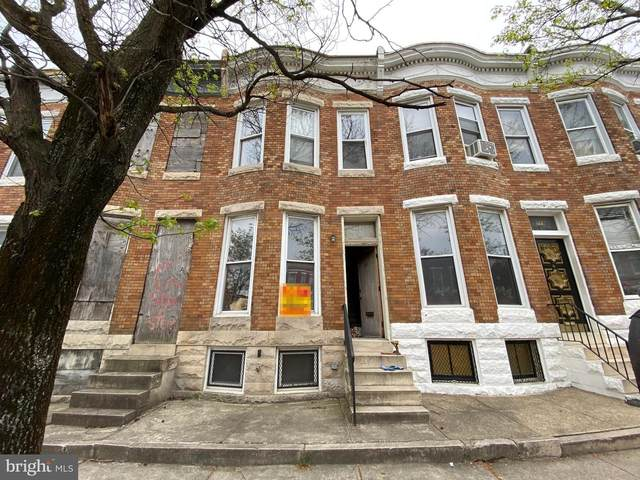 221 N Monroe Street, BALTIMORE, MD 21223 (#MDBA550184) :: ExecuHome Realty
