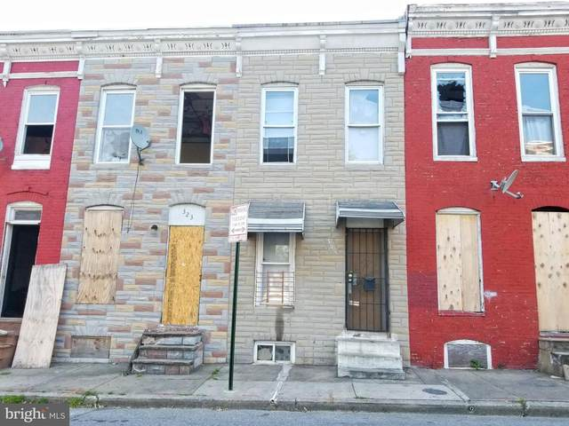 325 Furrow Street, BALTIMORE, MD 21223 (#MDBA550226) :: Bruce & Tanya and Associates