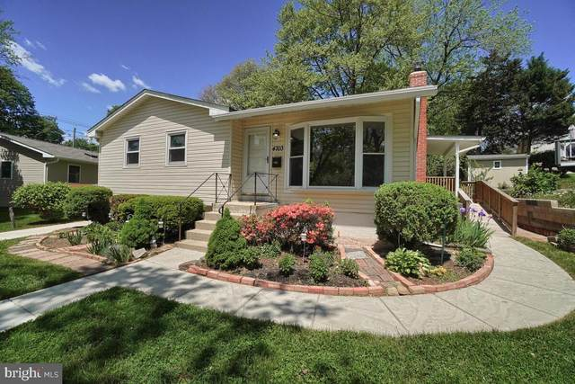 4703 Tallahassee Avenue, ROCKVILLE, MD 20853 (#MDMC757432) :: Realty Executives Premier