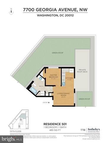 7700 Georgia Avenue NW #501, WASHINGTON, DC 20012 (#DCDC520888) :: John Lesniewski | RE/MAX United Real Estate