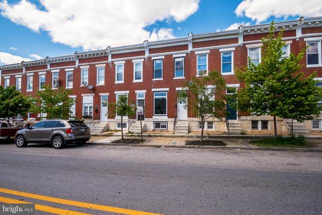 2932 E Fayette Street, BALTIMORE, MD 21224 (#MDBA550520) :: Berkshire Hathaway HomeServices McNelis Group Properties