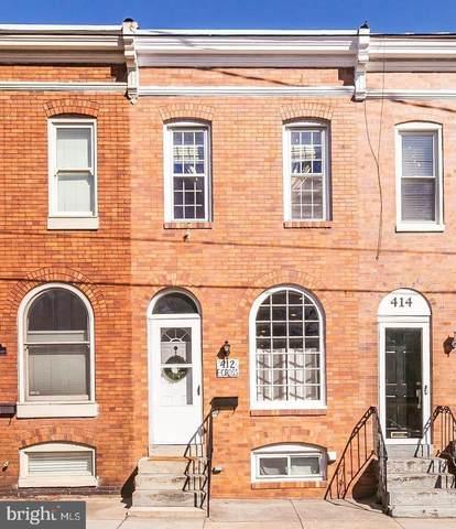 412 E Cross Street, BALTIMORE, MD 21230 (#MDBA550558) :: New Home Team of Maryland