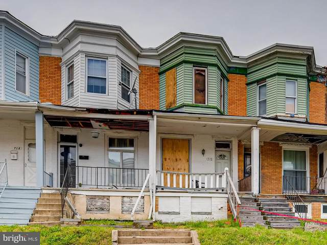 716 E 23RD Street, BALTIMORE, MD 21218 (#MDBA550808) :: Dart Homes