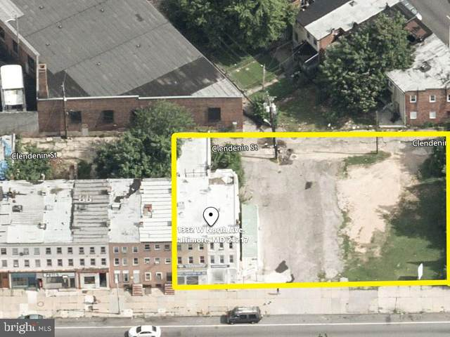 1322 W North Avenue, BALTIMORE, MD 21217 (#MDBA550832) :: Peter Knapp Realty Group