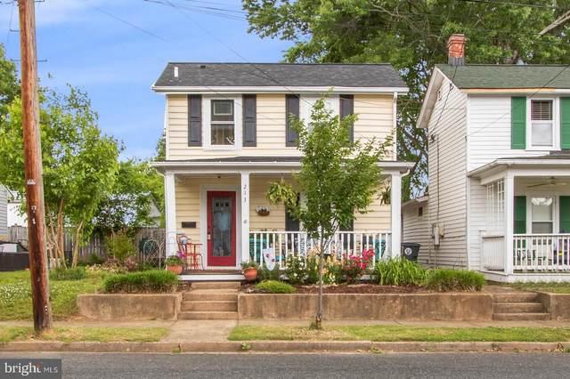 213 Forbes Street, FREDERICKSBURG, VA 22401 (MLS #VAFB119082) :: PORTERPLUS REALTY