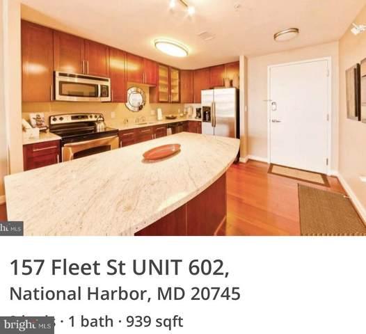 157 Fleet Street #602, NATIONAL HARBOR, MD 20745 (#MDPG606702) :: City Smart Living