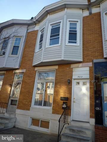 502 S Macon Street, BALTIMORE, MD 21224 (#MDBA551148) :: Dart Homes