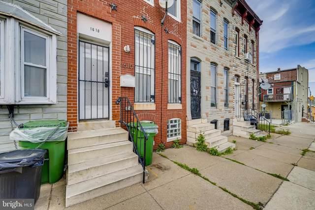 1610 W Franklin Street, BALTIMORE, MD 21223 (#MDBA551202) :: Jennifer Mack Properties
