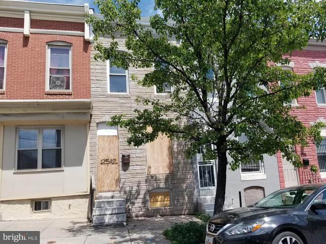 2512 Jefferson Street, BALTIMORE, MD 21205 (#MDBA551592) :: The Mike Coleman Team