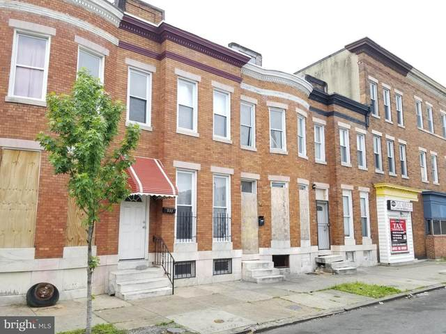 533 Cumberland Street, BALTIMORE, MD 21217 (#MDBA551654) :: The Mike Coleman Team
