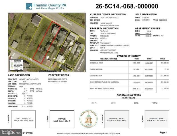 409 W Fifth Street, WAYNESBORO, PA 17268 (#PAFL180006) :: The Joy Daniels Real Estate Group