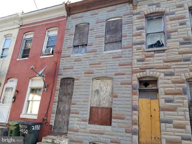 2548 Boyd Street, BALTIMORE, MD 21223 (#MDBA551876) :: Nesbitt Realty
