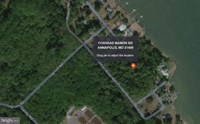 Lot 160 Foxhead Manor Road, ANNAPOLIS, MD 21409 (#MDAA469174) :: Keller Williams Flagship of Maryland