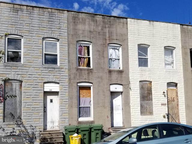318 S Payson Street, BALTIMORE, MD 21223 (#MDBA552242) :: The Maryland Group of Long & Foster Real Estate
