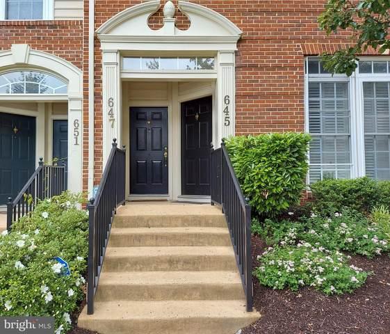 647 Whetstone Glen Street, GAITHERSBURG, MD 20877 (#MDMC760366) :: Shamrock Realty Group, Inc