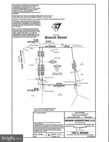 115 Branch Street, MOUNT HOLLY, NJ 08060 (MLS #NJBL398764) :: The Dekanski Home Selling Team