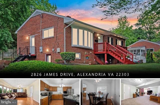 2826 James Drive, ALEXANDRIA, VA 22303 (#VAFX1205056) :: Nesbitt Realty