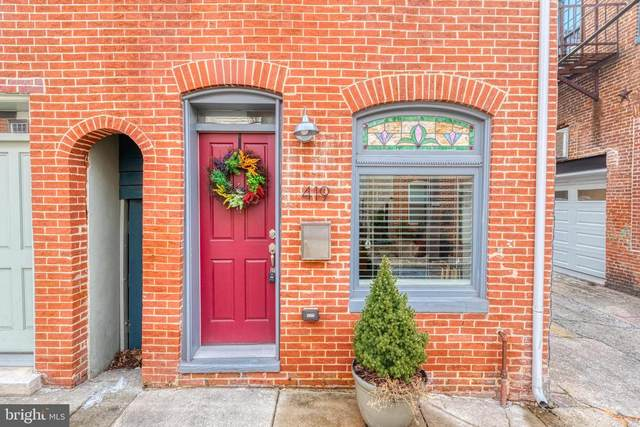 419 S Regester Street, BALTIMORE, MD 21231 (#MDBA553126) :: SURE Sales Group