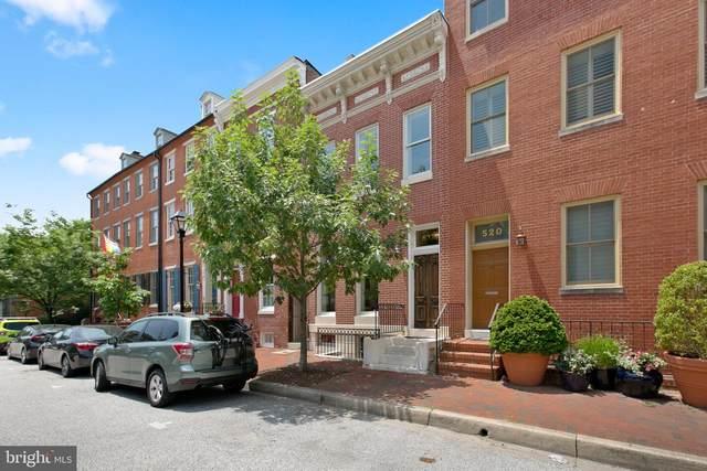 522 S Hanover Street, BALTIMORE, MD 21201 (#MDBA553450) :: Peter Knapp Realty Group