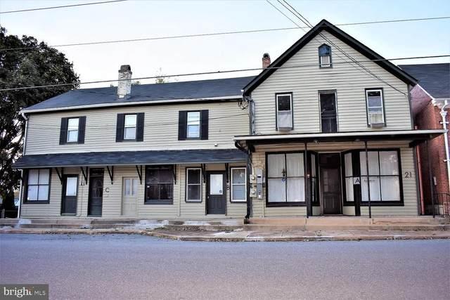 21 W Pennsylvania Avenue, WALKERSVILLE, MD 21793 (#MDFR283654) :: Ultimate Selling Team