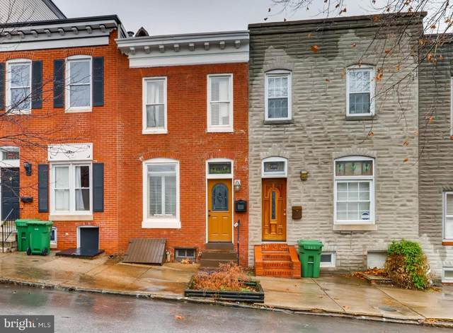 231 S Chester Street, BALTIMORE, MD 21231 (#MDBA554156) :: The Mike Coleman Team