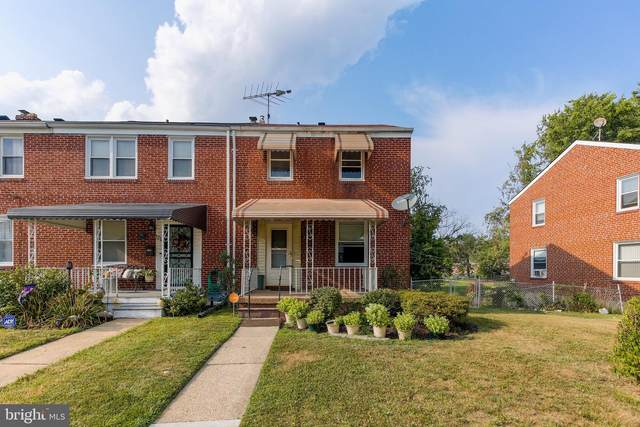 1216 Woodbourne Avenue, BALTIMORE, MD 21239 (#MDBA554250) :: ExecuHome Realty