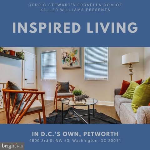 4809 3RD Street NW #3, WASHINGTON, DC 20011 (#DCDC526052) :: Eng Garcia Properties, LLC