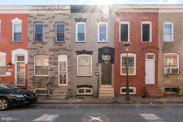 218 N Rose Street, BALTIMORE, MD 21224 (#MDBA554758) :: Berkshire Hathaway HomeServices McNelis Group Properties