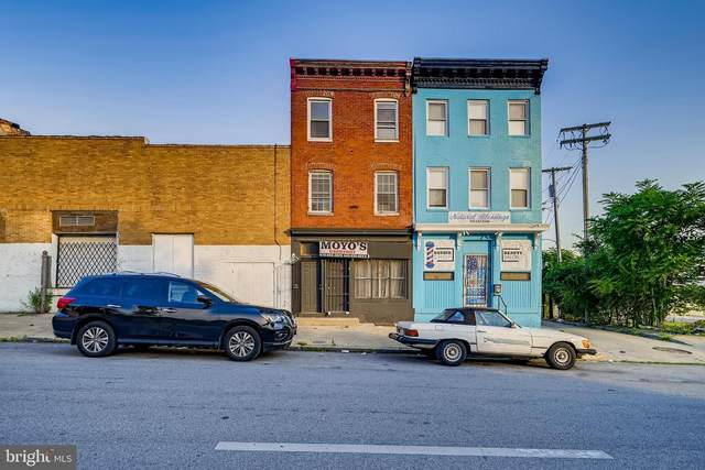 2117 Frederick Avenue, BALTIMORE, MD 21223 (#MDBA554988) :: Charis Realty Group