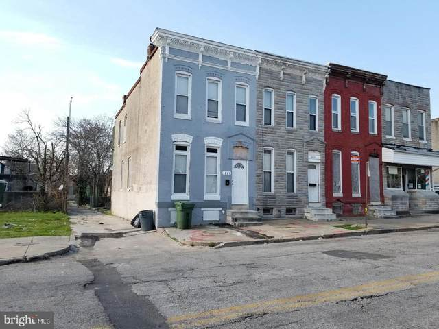 1827 E Federal Street, BALTIMORE, MD 21213 (#MDBA555084) :: RE/MAX Advantage Realty