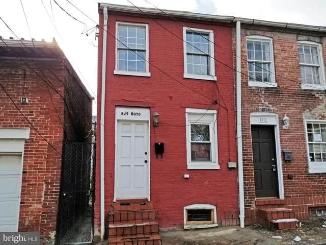 829 Boyd Street, BALTIMORE, MD 21201 (#MDBA555128) :: Sunrise Home Sales Team of Mackintosh Inc Realtors