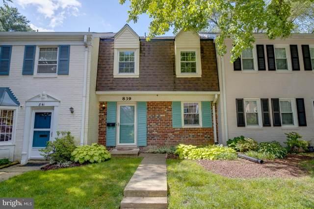 839 Azalea Drive #28, ROCKVILLE, MD 20850 (#MDMC763840) :: Dart Homes