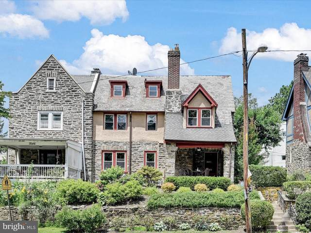 7048 Lincoln Drive, PHILADELPHIA, PA 19119 (#PAPH1027798) :: The Lux Living Group