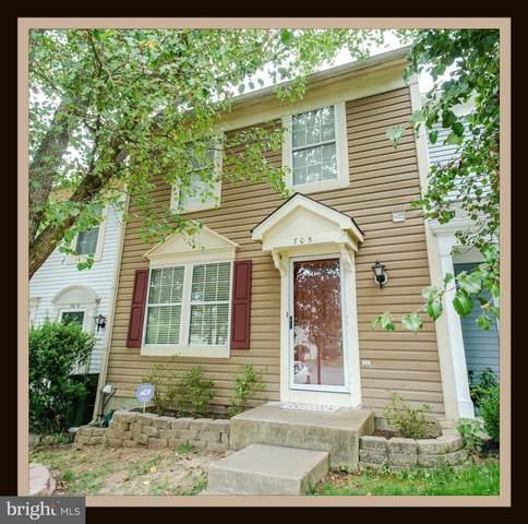 705 Knollwood, STAFFORD, VA 22554 (#VAST233576) :: Boyle & Kahoe Real Estate