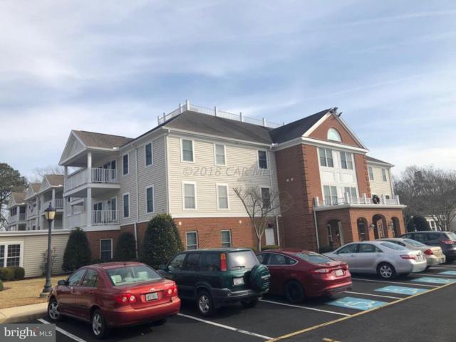 1105 S Schumaker Drive B-010, SALISBURY, MD 21804 (#1001561126) :: Condominium Realty, LTD