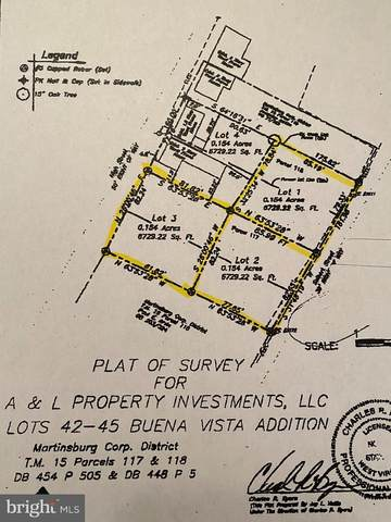 Lots 1,2,3 Buena Vis S High And Seibert Street, MARTINSBURG, WV 25401 (#WVBE2000032) :: Mortensen Team