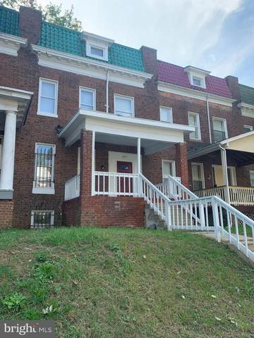 2813 Hilldale Avenue, BALTIMORE, MD 21215 (#MDBA2000151) :: The Putnam Group