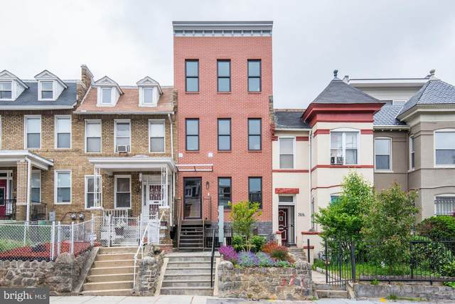 3614 13TH Street NW #2, WASHINGTON, DC 20010 (#DCDC2000530) :: Bowers Realty Group