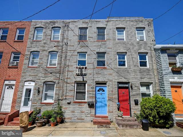 418 S Durham Street, BALTIMORE, MD 21231 (#MDBA2000528) :: Shamrock Realty Group, Inc