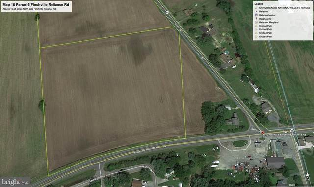 0 Finchville Reliance Road, FEDERALSBURG, MD 21632 (#MDDO2000018) :: The Licata Group / EXP Realty
