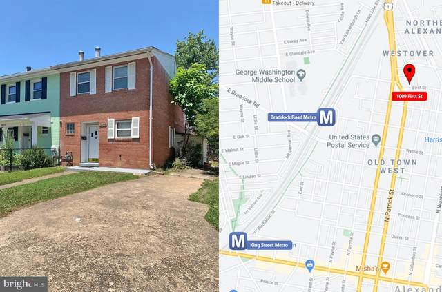 1009 First Street, ALEXANDRIA, VA 22314 (#VAAX2000202) :: ROSS | RESIDENTIAL